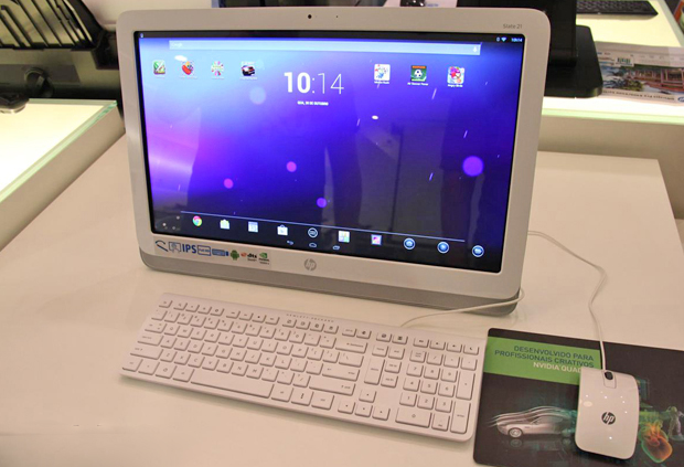 HP Slate 21, o primeiro all-in-one com Android